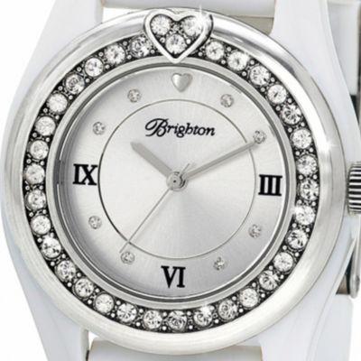 Women: Brighton Accessories: Silver/White Brighton DANA POINT