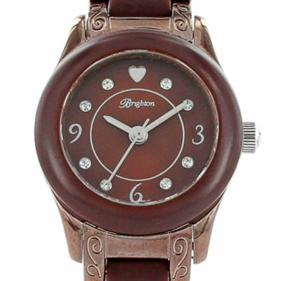 Watches for Women: Chocolate Brighton Women's Baby Brooklyn Timepiece Watch