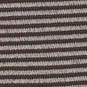 Women: Hue Accessories: Espresso Stripe HUE Ultrasmooth Socks - Single Pair