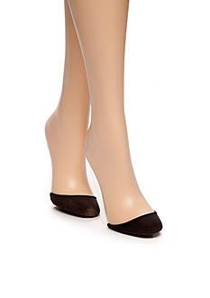 HUE Perfectly Bare Slingback Liner Socks