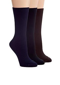 HUE Classic Rib Sock