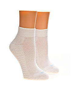 HUE Ultimate Fabulous Feet 2-Pack Quarter Top Sock