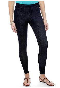 HUE Plus Denim Legging