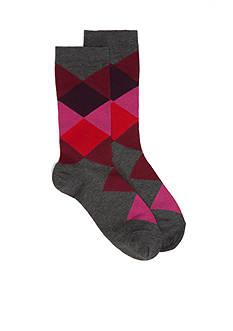 HUE Argyle Socks - Single Pair