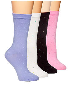 HUE Pin Dot Socks