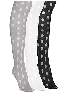HUE Sheer Dot Tights