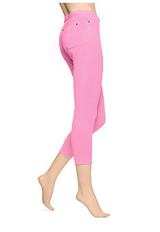 HUE Chinos Skimmer Neon Leggings