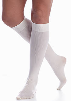 HUE Modern Rib Knee High Sock