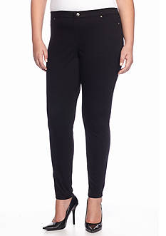HUE Plus Size Super Smooth Jean Leggings