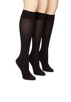 HUE Opaque Knee High 3-Pack
