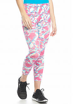 HUE Pixel Active Capri Leggings