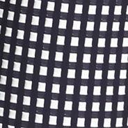 Women: Hue Pants: Navy HUE Checkered Knit Capri Leggings