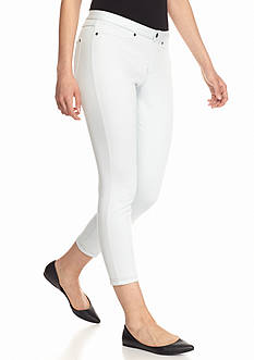 HUE Super Smooth Jean Capri Leggings