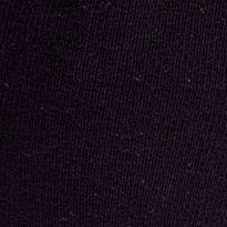 Dress Socks: Black HUE Flat Knit Knee Sock