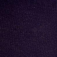 Dress Socks: Navy HUE Flat Knit Knee Sock