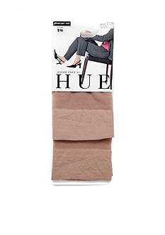HUE 2-Pair Pack Sheer Knee High Stockings