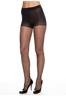 HUE Backseam Pantyhose With Control Top