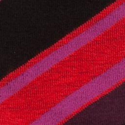 Women: Hue Accessories: Deep Burgundy HUE Jean Socks - Single Pair