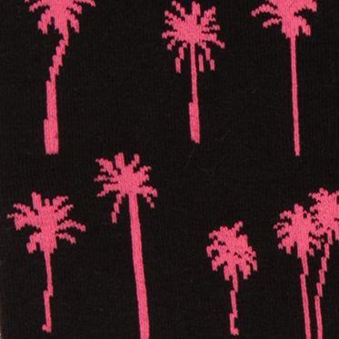 HUE: Neon Pink/Black HUE Jean Socks - Single Pair