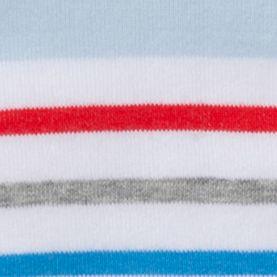 Handbags & Accessories: Socks Sale: White Stripe HUE Jean Socks - Single Pair