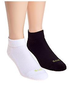 HUE Quarter Top with Cushion 6-Pack Socks