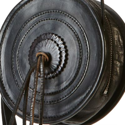Handbags & Accessories: Frye Handbags & Wallets: Black Frye Layla Concho Circle Crossbody