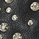 Handbags and Wallets: Black Frye Selena Stud Strappy Crossbody