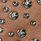Frye: Chocolate Frye Selena Stud Strappy Crossbody