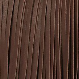 Handbags & Accessories: Frye Designer Handbags: Dark Brown Frye Ray Fringe Shoulder Bag