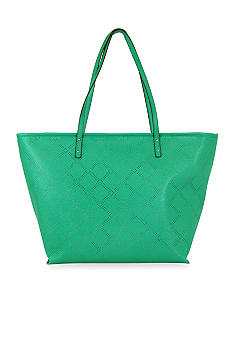 New Directions Saffiano Perforated Tote
