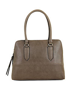 New Directions® Bingham Smooth Dome Satchel