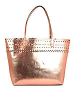 Zoe Scalloped Tote