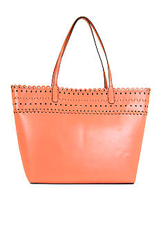 New Directions Zoe Scalloped Tote