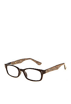 CMC by Corinne McCormack Reading Glasses with Leopard Accent