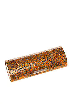 CMC by Corinne McCormack Rectangle Lizard Print Glasses Case