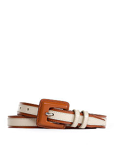 Lauren Ralph Lauren Color Blocked Belt