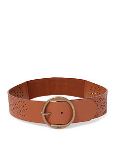 Ralph Lauren Perforated Vachetta Belt