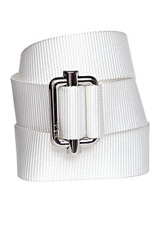 Lauren Ralph Lauren Ribbed Nylon Belt