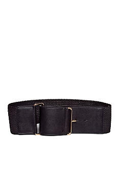Lauren Ralph Lauren Chevron Woven Stretch Belt