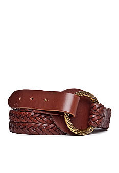 Lauren Ralph Lauren Split Braid Belt