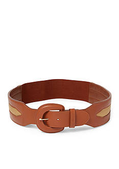 Ralph Lauren Two-Tone Stretch Belt