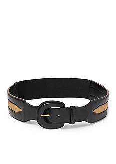 Ralph Lauren Two-Toned Stretch Belt