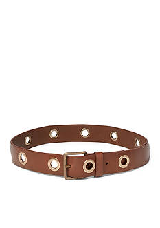 Ralph Lauren Leather Grommet Belt