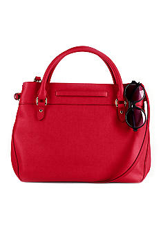 Lauren Ralph Lauren Leather Newbury Satchel