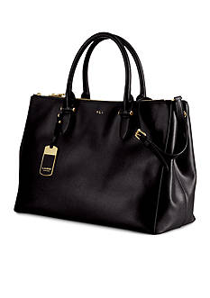 Lauren Ralph Lauren Newbury Double-Zip Satchel