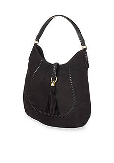 Lauren Ralph Lauren Indian Cove Suede Hobo
