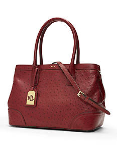 Lauren Ralph Lauren Fairfield Ostrich City Shopper