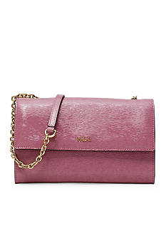 Lauren Ralph Lauren Tate Patent Leather Mini Crossbody