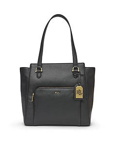 Lauren Ralph Lauren Harrington Modern Pocket Tote