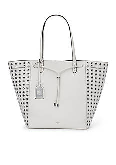 Lauren Ralph Lauren Oxford Rivet Large Tote